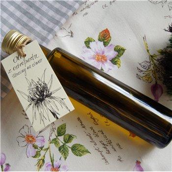 Olej z ostropestu tłoczony na zimno 250 ml szkło