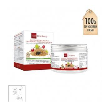 Cukrowy Peeling Do Ciała z Masłem Shea i Olejem Żurawinowym GoCranberry 200 ml