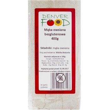 Mąka owsiana bezglutenowa 400 g